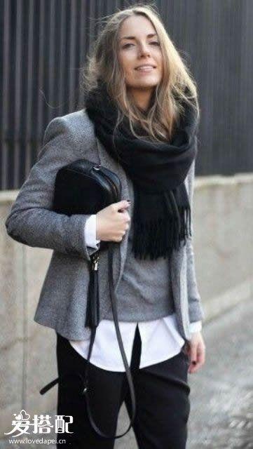 夹克 And 毛衣